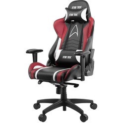 Arozzi Gaming Chair Star Trek Edition Red