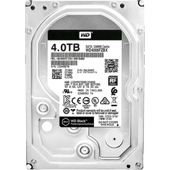 Western Digital 4TB 7200RPM 6GB/S 256MB BLACK WD4005FZBX