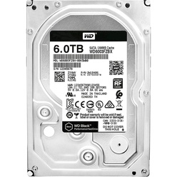 Western Digital 6TB 7200RPM 6GB/S 256MB BLACK WD6003FZBX
