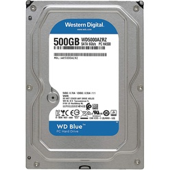 Western Digital 500GB 6GB/S 64MB BLUE WD5000AZRZ