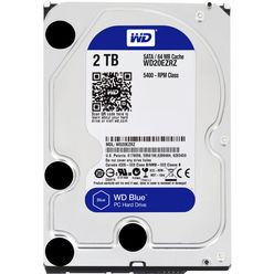 Western Digital 2TB 6GB/S 64MB BLUE WD20EZRZ