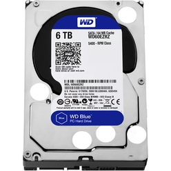 Western Digital 6TB 6GB/S 64MB BLUE WD60EZRZ