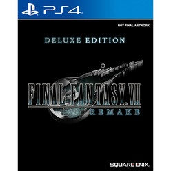 Sony PlayStation 4 Final Fantasy VII Remake. Deluxe Edition