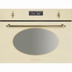Духовой шкаф c функцией свч Smeg S 845MCPO9