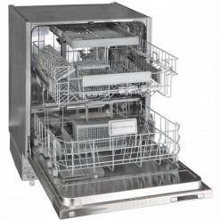Серебристая Встраиваемая посудомоечная машина Kuppersberg GLF 689