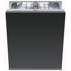 Серебристая Встраиваемая посудомоечная машина Smeg ST 321-1
