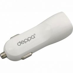 Deppa 2 USB 3.1 А, белый, (11511)