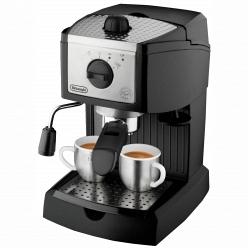 Кофеварка  15 бар Delonghi EC 155 (черная)