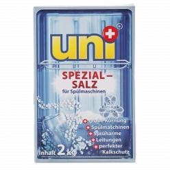Соль Uniplus для посудомоечных машин 2 кг