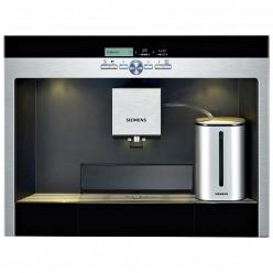 Встраиваемая кофемашина c возможностью приготовления капучино Siemens TK 76K573