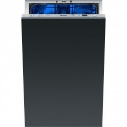 Серебристая Встраиваемая посудомоечная машина Smeg STA 4526