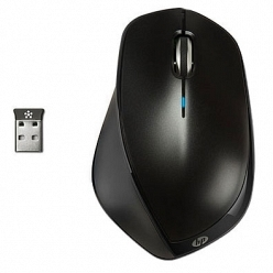 HP X4500 Wireless Mouse черный (H2W26AA)