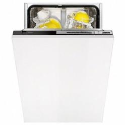 Черная Встраиваемая посудомоечная машина Zanussi ZDV 91400 FA