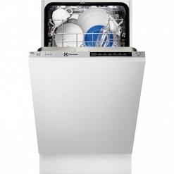 Серебристая Встраиваемая посудомоечная машина Electrolux ESL4561RO