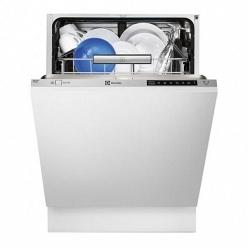 Серебристая Встраиваемая посудомоечная машина Electrolux ESL97720RA