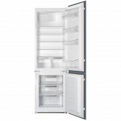 Белый Встраиваемый холодильник Smeg C7280F2P