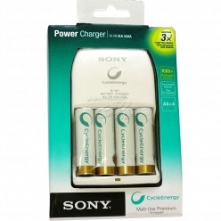 Sony Power Charger+4 AA 2100mAh (BCG34HH4KN)