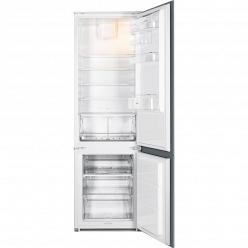 Белый Встраиваемый холодильник Smeg C3180FP
