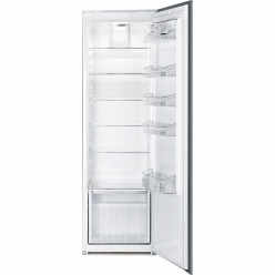 Белый Встраиваемый холодильник Smeg S7323LFEP