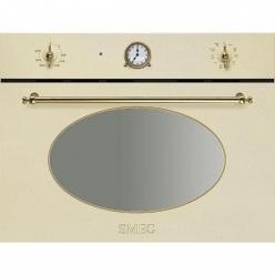 Духовой шкаф с СВЧ Smeg SF 4800MCP