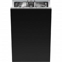 Серебристая Встраиваемая посудомоечная машина Smeg STA4523