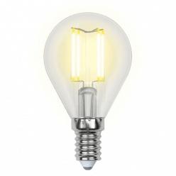 Лампа Uniel LED-G45-6W/WW/E14/CL PLS02WH