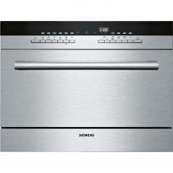 Серебристая Встраиваемая посудомоечная машина Siemens SK 76M544RU