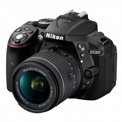 Цифровой фотоаппарат Nikon D5300 Kit 18-55 VR BK (AF-P)