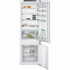 Белый Встраиваемый холодильник Siemens KI87SAF30R