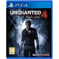 Uncharted 4: Путь вора PS4, русская версия