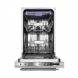 Белая Встраиваемая посудомоечная машина Midea M45BD-1006D3