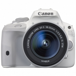 Цифровой фотоаппарат Canon EOS 100D Kit 18-55 IS STM White