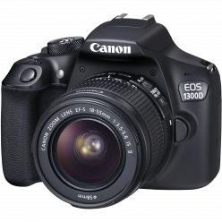 Цифровой фотоаппарат Canon EOS 1300D Kit 18-55 IS III (EF-S)