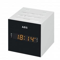 Электронные настольные часы AEG MRC 4150 WH