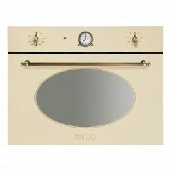 Духовой шкаф c функцией свч Smeg SF4800MCPO