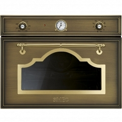 Духовой шкаф c функцией свч Smeg SF4750MCOT