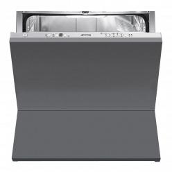 Серебристая Встраиваемая посудомоечная машина Smeg STC75