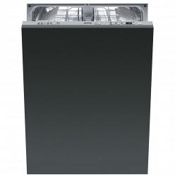 Черная Встраиваемая посудомоечная машина Smeg STLA825A-1