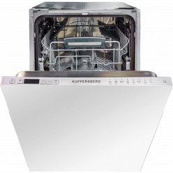 Серебристая Встраиваемая посудомоечная машина Kuppersberg GL 4588