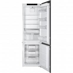 Белый Встраиваемый холодильник Smeg CD7276NLD2P