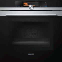 Духовой шкаф с свч 900 Вт Siemens HN678G4S1