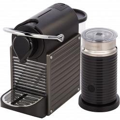Капсульная кофемашина Nespresso Pixie Bundle C60