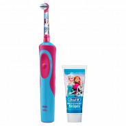 Электрическая зубная щетка Braun D14.513K Frozen Kids