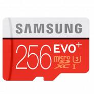Карта памяти Samsung MicroSDHC 256GB Class 10 EVO Plus (MB-MC256DA)