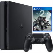 Игровая приставка Sony PlayStation 4 1000 Gb + Destiny 2 (CUH-2108B)