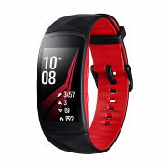 Фитнес-браслет Samsung Gear Fit2 Pro SM-R365 black-red