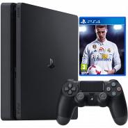 Игровая приставка Sony PlayStation 4 1000 Gb + FIFA 2018 (CUH-2108B)