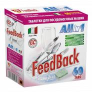 Таблетки FeedBack для посудомоечных машин