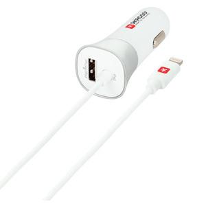 Автомобильное зарядное устройство Skross USB Car Charger - Lightning Connector