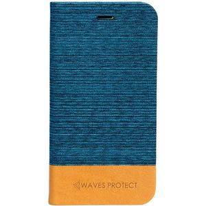 Чехол для смартфона Waves Protect Jeans Samsung S8 синий (WP0015)